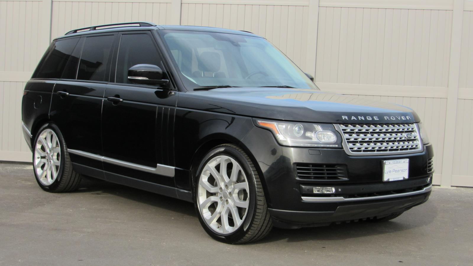 pre-owned 2014 land rover range rover 4wd 4dr supercharged sport