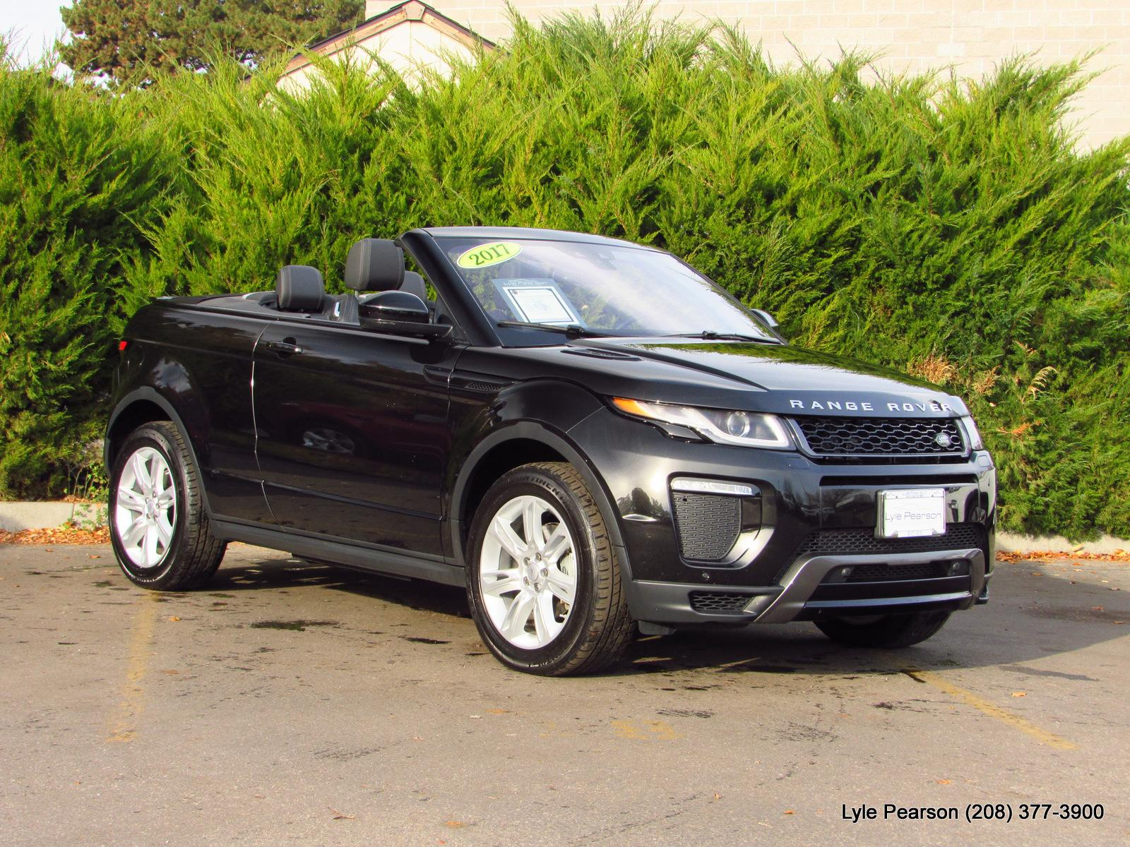 Certified Pre-Owned 2017 Land Rover Range Rover Evoque Convertible HSE  Dynamic